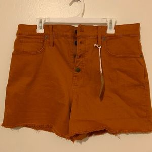 Brand New Madewell High Rise Shorts